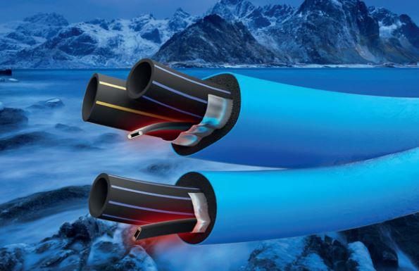 Polarrör PEM inkl värmekabel