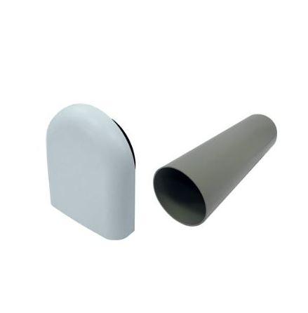 Bosch  ytterväggshuv för Bosch Vent 2000 D