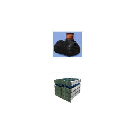 Slamavskiljare 2,0 m3  med Biomodulpaket, BDT+KL, ett hushåll