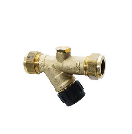 Påfyllningsventil ESBE, DN15, PN16, 15 mm