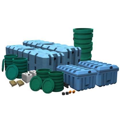FANN IN-DRÄN Biobädd 10, WC + BDT,hög skyddsnivå