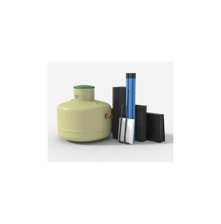 BAGA BDT paket med slamavskiljare och Biomodulpaket