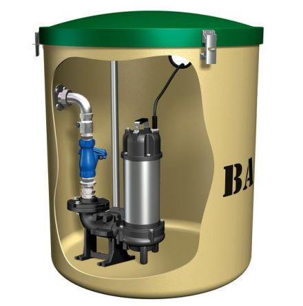 Baga Kompus 61 pumpstation BDT +WC