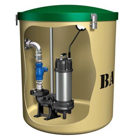 Baga Kompus 81 pumpstation BDT +WC