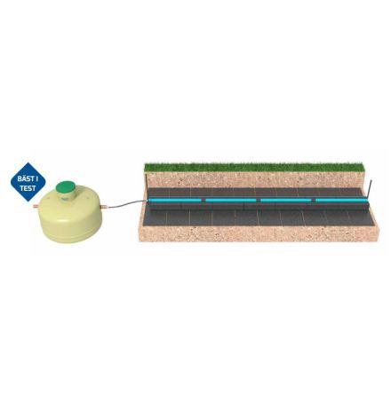 BAGA slamavskiljare + biomoduler 5 hushåll