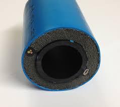PEM slang avlopp isolerad med värmekabel