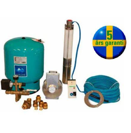 DEBE Komplett pumppaket 1x230 V (2-Wire)