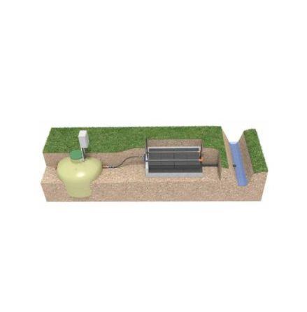 BAGA Easy kompaktbädd 3,4 m2