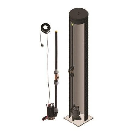 Pumpbrunn DPB2-FLEX inklusive pump CC7