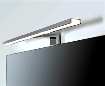 Omtalade LED Belysning för spegel 50cm, Blank Krom VQ-77