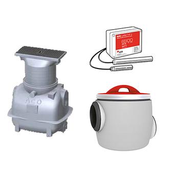 ACO Box Concept 2:1 och 2:2, oljeavskiljare för garage- och maskinrumsmiljö