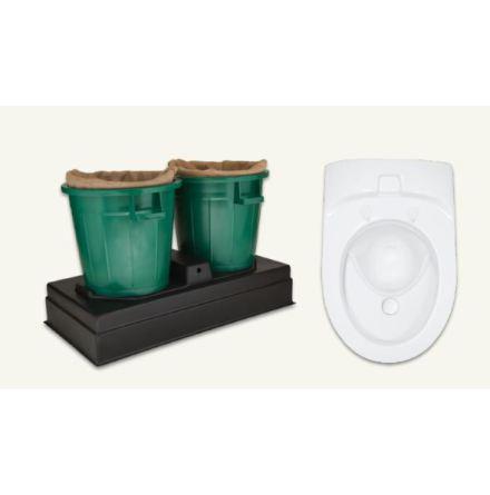 EcoVac EXTEND toalettpaket + BOSS:2 Kompostsystem
