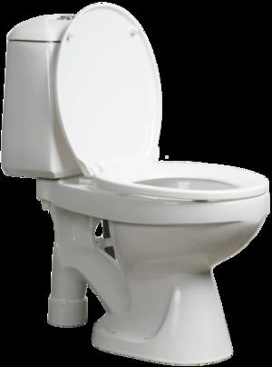 Snålspolande urin separerande wc